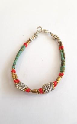 Bracelets fins tibétains