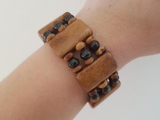 Bracelet large os de yak